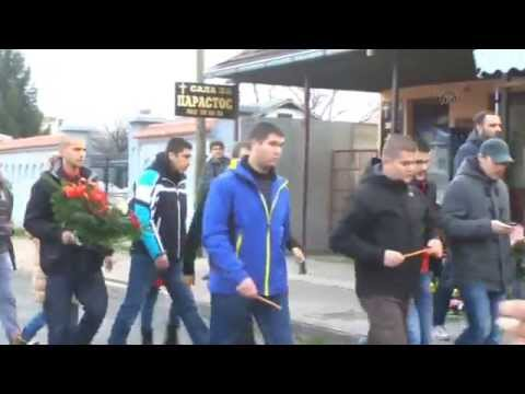 Sahranjen ubijeni navijač Crvene zvezde Marko Ivković
