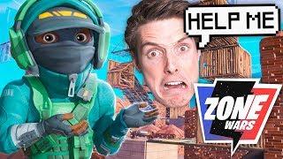 *NEW* ZONE WARS mode in Fortnite! Ft. LazarBeam