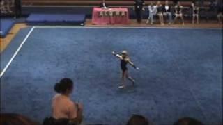 6 year old doing level 4 gymnastics