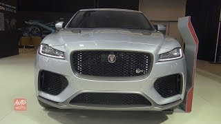 2019 Jaguar F-Pace - Exterior And Interior Walkaround - 2019 Montreal Auto Show