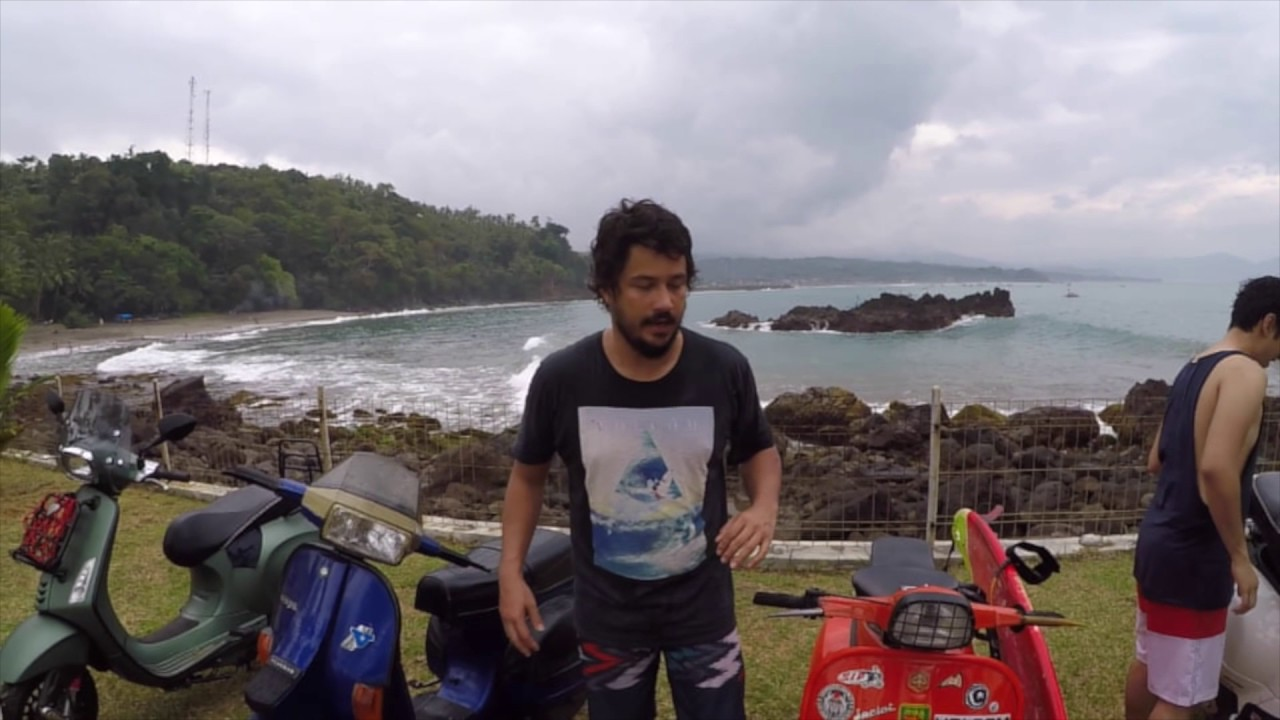 The Day We Took Our Vespa To Cimaja The After Movie Ft Anak Langit