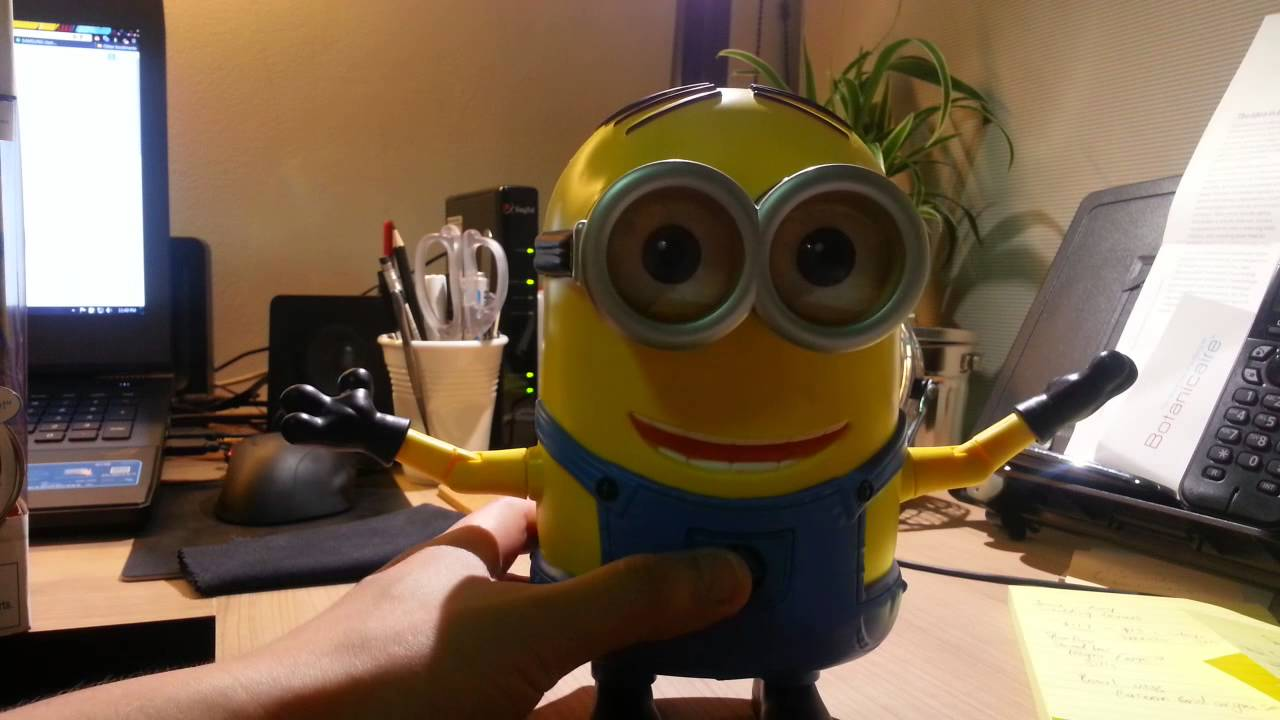 Despicable Me 2 Dancing Dave. Minion Unboxed - YouTube