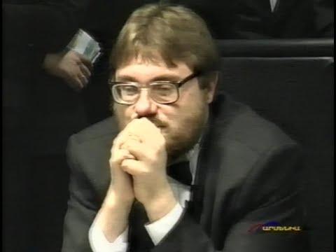 Что? Где? Когда? в Армении. Весна 2002г. Вторая игра. Команда Сиднева.