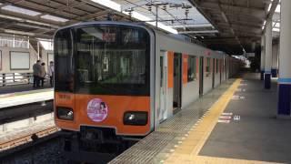 2017.4.23 川越駅にて撮影 期間限定で東武東上線とももいろクローバーZ...
