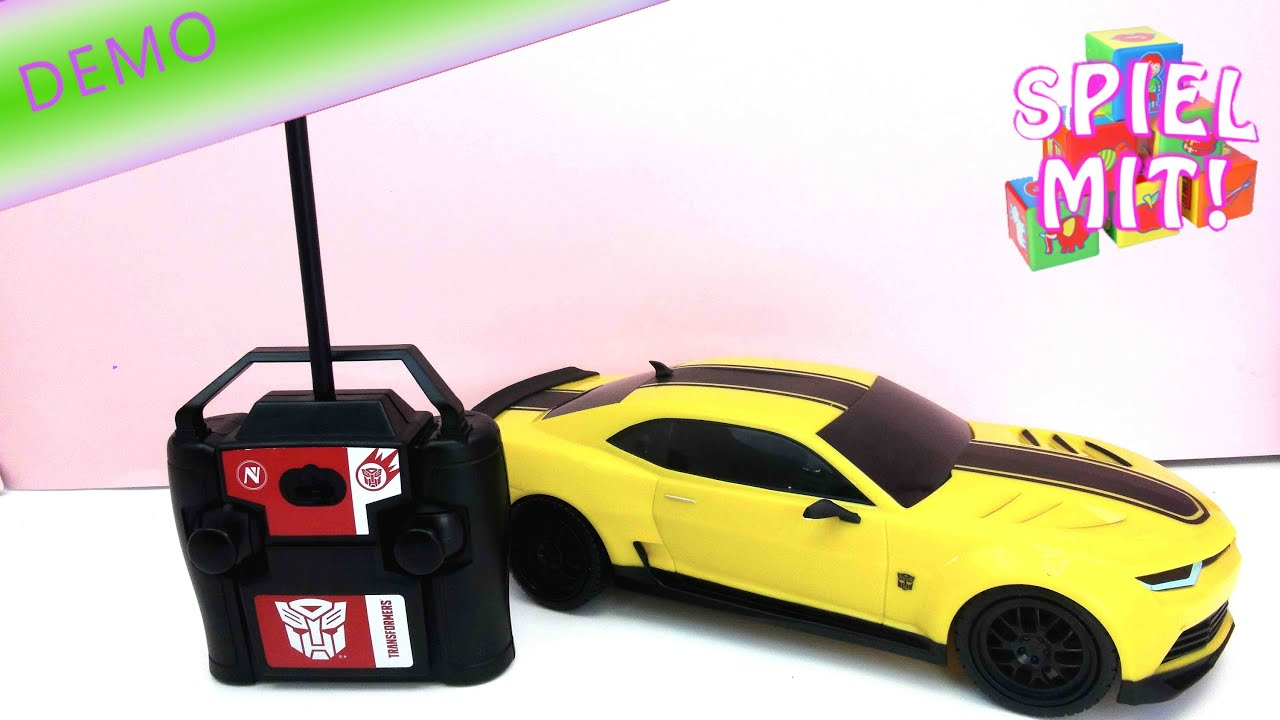 transformer autobot bumblebee ferngesteuertes auto demo. Black Bedroom Furniture Sets. Home Design Ideas