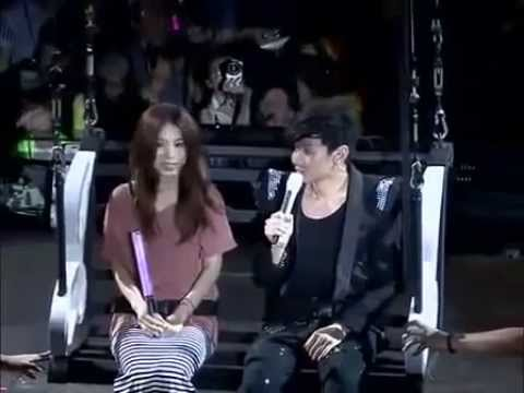Jolin Helps JJ Lin Approach Hebe at his Concert (eng sub)