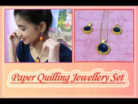 DIY : Gorgeous Paper Quilling Jewellery Set (in Hindi) by Jyoti Sachdeva .