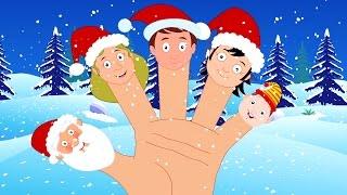 Papá Noel dedo Familia | Navidad Rimas | Papá Noel Canción | Kids Song | Santa Claus Finger Family