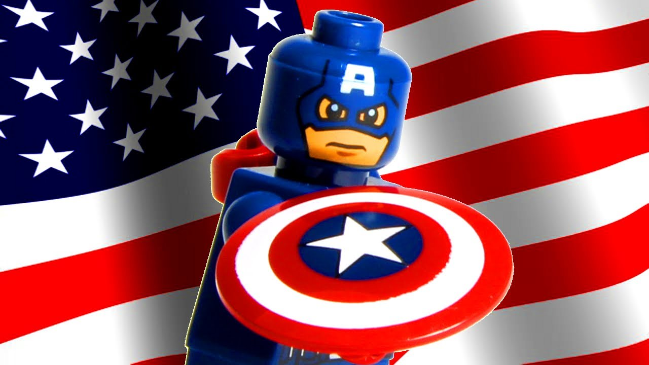 Lego captain america youtube - Lego capitaine america ...