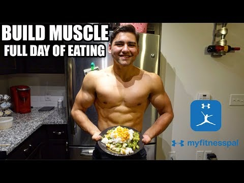 How to Build Muscle Without Tracking Calories or Macros | Full Day Of Eating