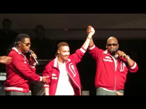 Boyz II Men Performance with Viral Sensation Dr. Rogers