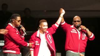 Boyz II Men Performance with Viral Sensation Dr. Rogers