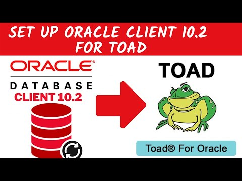 Oracle instant client set up for Toad developer