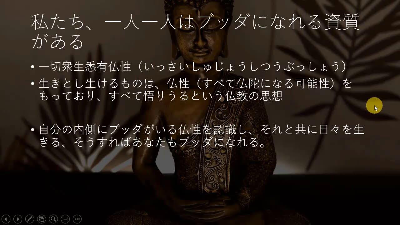 仏教の未来 仏性 テクノロジー 最新科学、量子力学との融合 日常生活が修行 仏教について8
