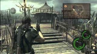 CGR Gameplay - RESIDENT EVIL 5 (Xbox 360) Chapter 3-1 Part 1