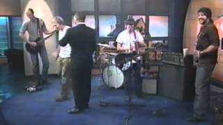 James Kochalka Superstar LIVE on WCAX-TV Morning News  Dec. 7, 2001