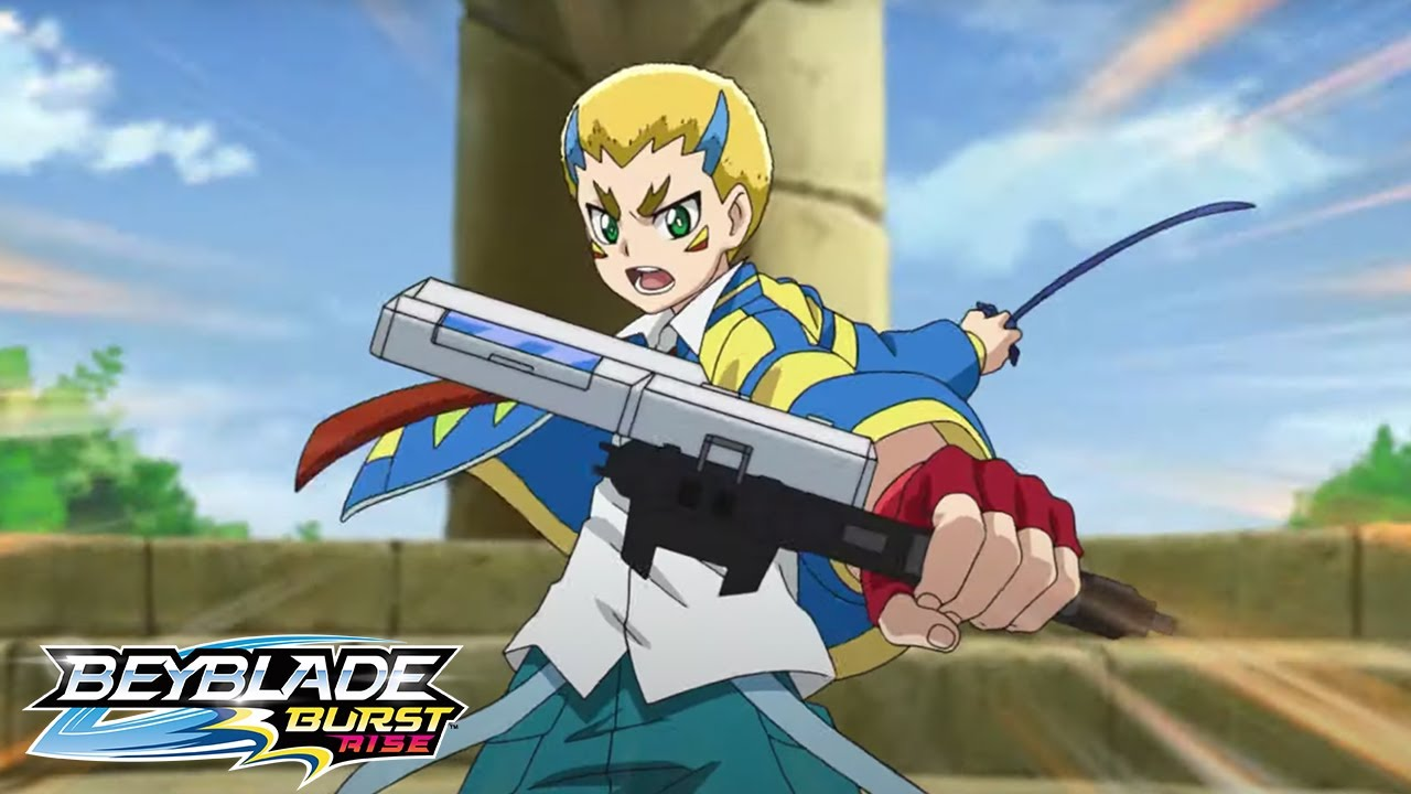 BEYBLADE BURST RISE Episode 12 Part 1 : Spin! Advance! Survive!