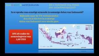Wereldwijs havo 4/5 hoofdstuk 9 §8 Is het een ontwikkelingsland? Domein ontwikkelingsland Indonesië
