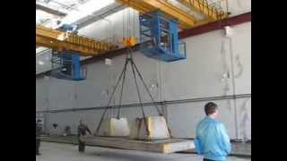 Краны мостовые опорные двухбалочные г/п 12/5т., GC-KENIG(, 2013-10-03T09:26:06.000Z)