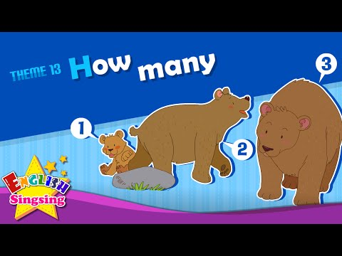 Theme 13. How many - How many apples? | ESL Song & Story - Learning English for Kids