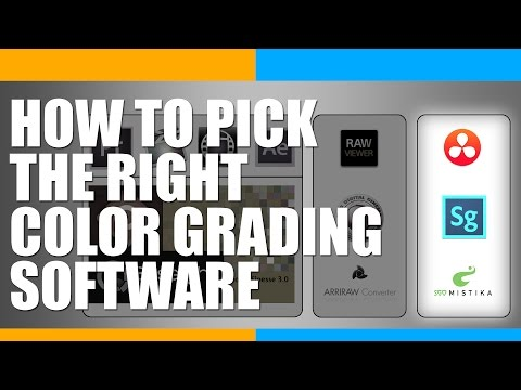 How to Pick the Right Color Grading Software