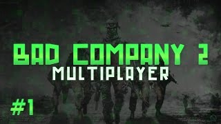 Battlefield Bad Company 2 |Multiplayer Gameplay | Pc | 1080p 60fps
