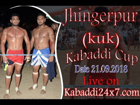 Jhingerpur [ KKR ] Kabaddi Cup Final Day Live Now