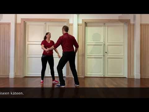 Video: Lissun Tanssivinkit no 17.  –Bugg_harjoite, vasen käännös