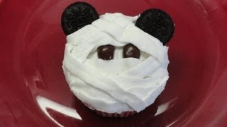 Decorating Cupcakes #114: Mickey Mouse Mummies