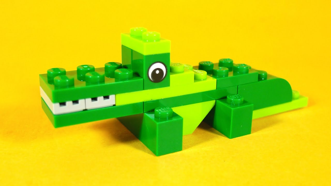 How To Build Lego Crocodile 4630 Lego Build Play Box Building