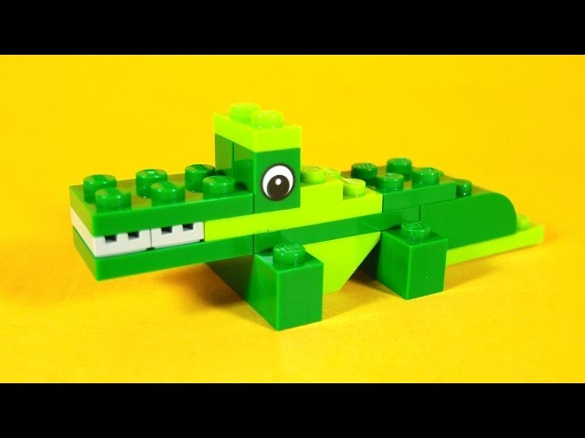 How To Build Lego CROCODILE - 4630 LEGO® Build & Play Box Building Instructions For Kids