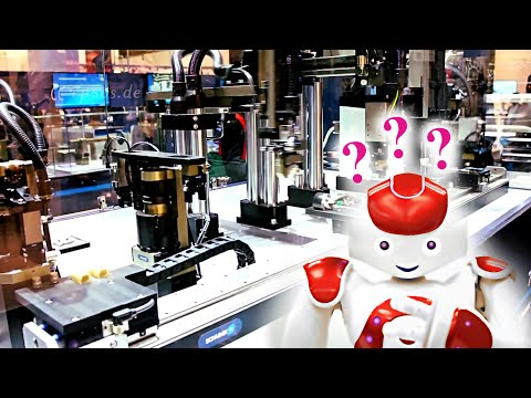 Fast Industrial Robot Production Line in Europe
