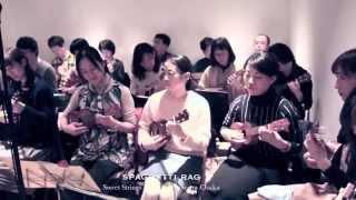 Sweet Strings Ukulele Orchestra Osaka plays Spaghetti Rag