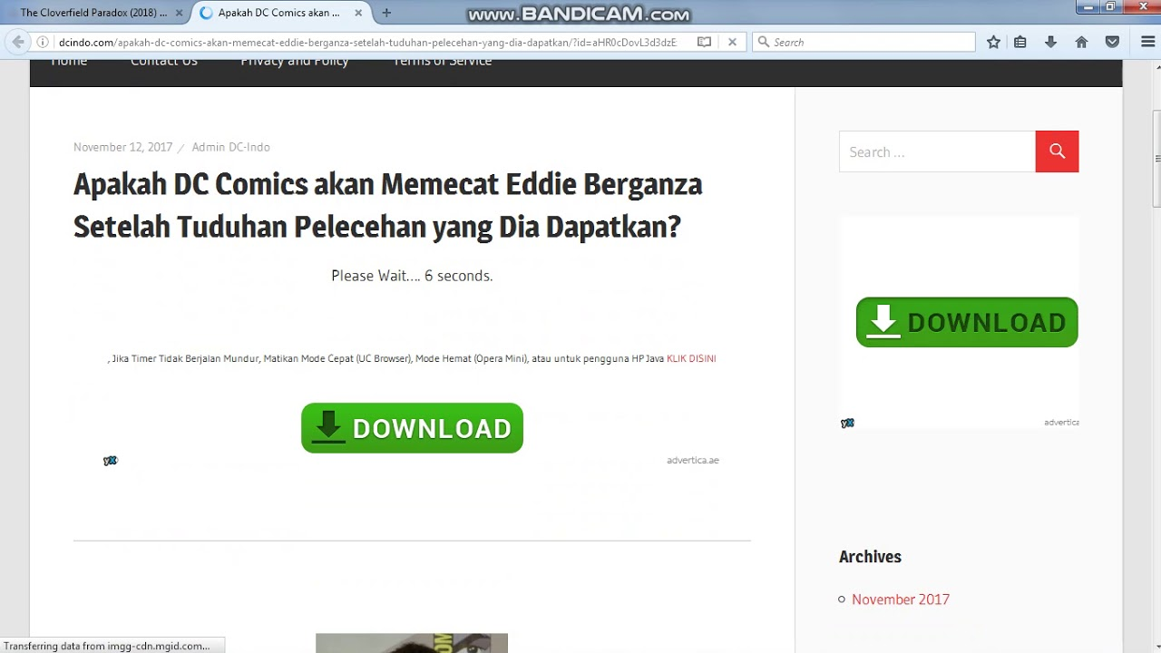 Cara mendownload film barat youtube.