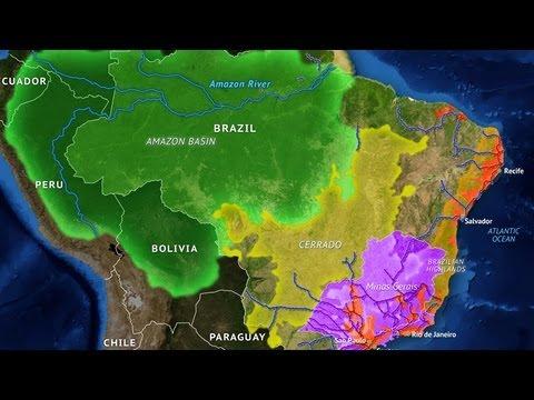 Brazil's Geographic Challenge