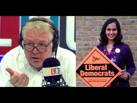AMNA AHMAD FACES NICK FERRARI ON LBC RADIO