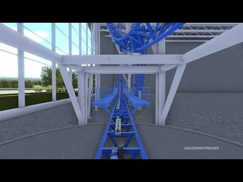 American Dream Meadowlands Mall - Sandy's Blasting Bronco POV