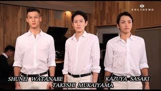 http://ameblo.jp/solidemo/ VOCAL: 渡部俊英(SHUNEI WATANABE)、向...