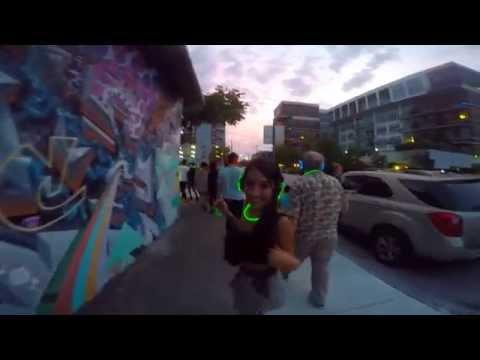 Silent Disco Party on the Miami Metro Mover