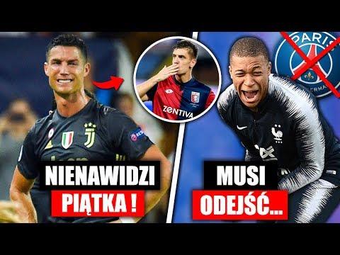 Cristiano Ronaldo Nienawidzi Piątka ! Mbappe Musi Odejść Przez Neymara ... | FOOTBALL NEWS