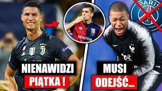 Crisitano Ronaldo nienawidzi Piątka ! Mbappe musi odejść przez Neymara ... | FOOTBALL NEWS
