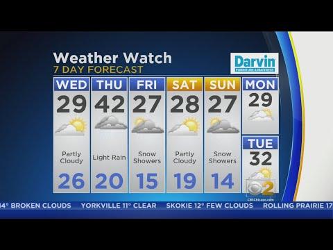 CBS 2 Weather Watch (6AM, Feb. 13, 2019) – Chicago Alerts