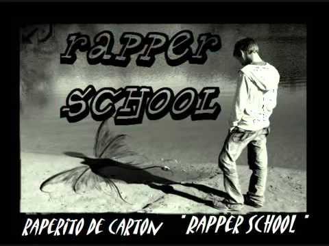 raperito de carton rapper school