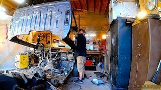 Copart Datsun Pickup Build Part 1