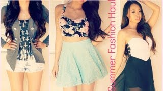 Summer Fashion Haul 2013 - TrendyBlendy, Banggood, Chicnova, & more! Thumbnail