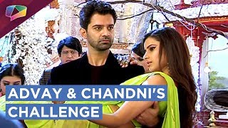 Advay And Chandni Challenge Each Other | Chandni Looses | Iss Pyaar Ko Kya Naam Doon?