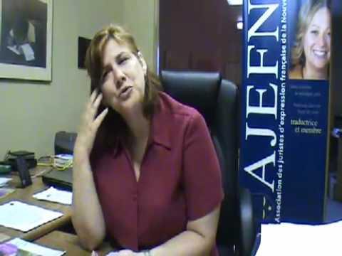 Marie-Claude Rioux sur la vie francophone d'Halifax - http://3beauxcanards.com - 2007 - 25 Minutes