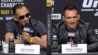 UFC 262: Оливейра vs Чендлер - Пресс-конференция