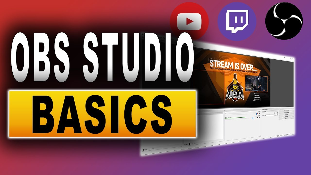 Obs studio tutorial