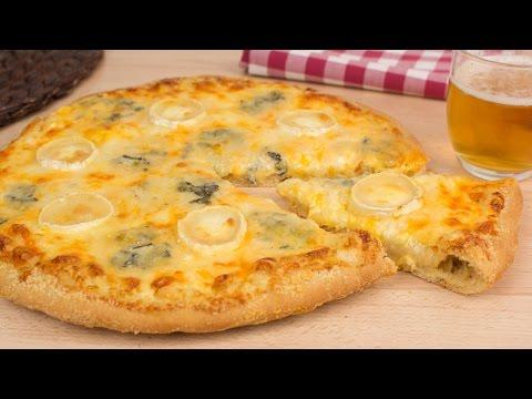 Pizza Cheesix Estilo Domino's Pizza (Pizza 6 Quesos)